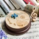 幸福森林.木製 發條式 選轉音樂盒 客製...