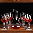 酒杯 紅酒杯高腳杯家用玻璃大小號香檳葡萄酒杯子雞尾酒杯白蘭地杯創意【快速出貨八折鉅惠】