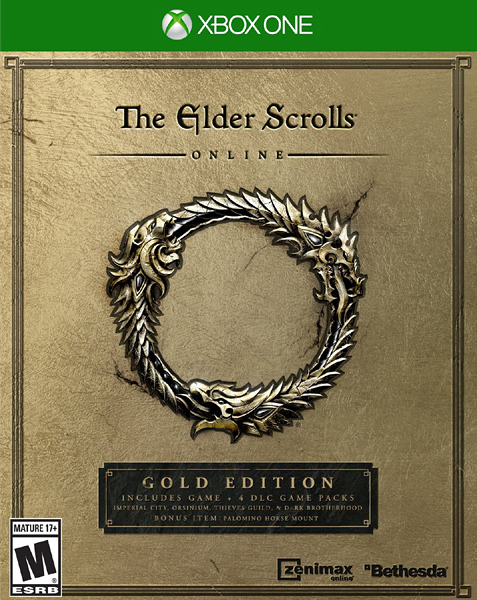 X1 The Elder Scrolls Online: Gold Edition 上古捲軸 Online:黃金版(美版代購)