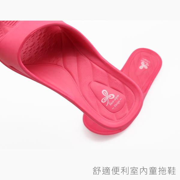 【333家居鞋館】兒童款●舒適便利室內童拖鞋-黃
