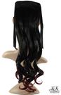 【挑染髮.頭髮增長】綁式(一片)雙染捲假髮片 2TT118 [32158]