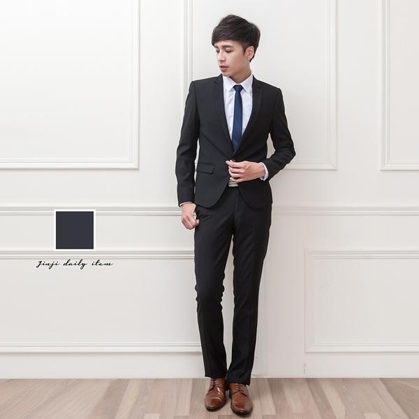訂做質感 合身小窄版男生成套西裝【Sebiro西米羅男女套裝制服】047000195