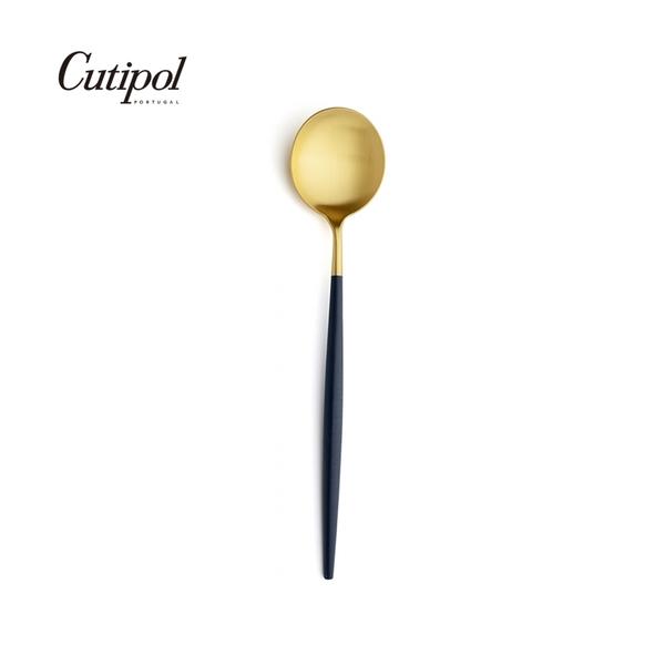 葡萄牙 Cutipol GOA系列18cm點心匙 (藍金)