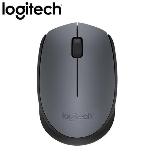 Logitech 羅技 M171 2.4G 無線滑鼠 灰