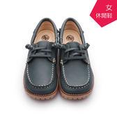 【A.MOUR 經典手工鞋】舒適休閒鞋 - 藍綠 / 休閒鞋 / 進口小牛皮 / 舒適鞋 / DH-7861