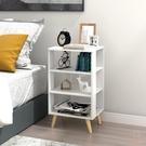 床頭櫃 簡約現代床頭櫃北歐風簡易多功能臥室床邊收納櫃儲物櫃小櫃子【購物節狂歡】