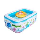 (快速)游泳池 兒童充氣加厚游泳池家用大人泳池小孩嬰兒寶寶家庭洗澡池YYJ