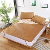 涼席-青荷涼席藤席1.8m春夏雙面可用折疊1.5米1.2學生宿舍單人空調席子