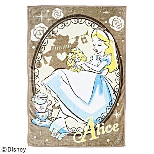 【震撼精品百貨】愛麗絲夢遊仙境_Alice~愛麗絲手繪圖案成人用雙人毛毯L(奇幻兔子洞)#65853