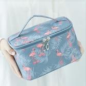 網紅化妝包女便攜韓國簡約大容量化妝袋箱少女心 育心小館