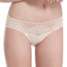 LADY 涼感纖體美型系列  蕾絲中腰三角褲(悠活膚)