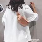 熱賣胸包 包包女2020新款韓版百搭學生運動胸包INS網紅簡約帆布側背斜背包 萊俐亞