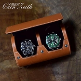 手錶收藏盒旅行便攜式歐式腕錶包圓形手錶盒隨身首飾盒收藏盒【八折下殺】