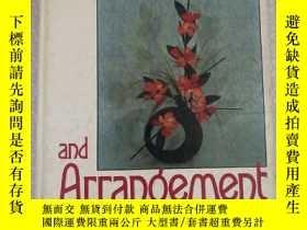 二手書博民逛書店Floral罕見Design and Arrangement Second Edition Gary L. McD