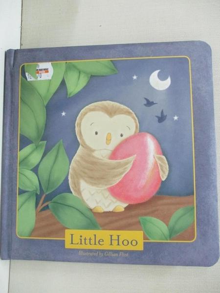 【書寶二手書T6/少年童書_BUG】Little Hoo_Gillian Flint