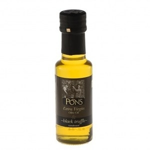西班牙PONS特級冷壓橄欖油黑松露風味125ML