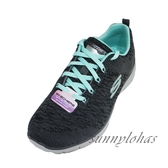 SKECHERS (女) FLEX ADVANTAGE 3.0 運動 健走鞋 針織 13062CCLB 灰 [陽光樂活]