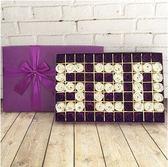 玫瑰香皂花束禮盒創意情人節禮品送女友送朋友生日禮物【77朵520】