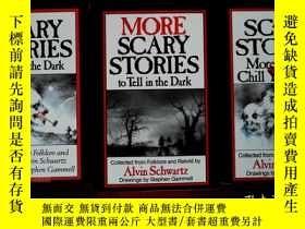 二手書博民逛書店(外文書)SCARY罕見STORIES More Tales t
