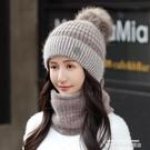 熱賣針織帽 帽子女秋冬天毛線帽加厚潮騎行電動車防寒冬季保暖女士針織帽 萊俐亞