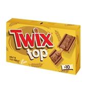 特趣巧克力焦糖香脆麥餅10入裝【愛買】