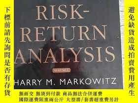 二手書博民逛書店RISK-RETURN罕見ANALYSIS The Theory and Practice of Rational
