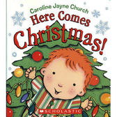 【麥克書店】 I Love You Through 繪者之節慶作品--HERE COMES CHRISTMAS ! /硬頁書