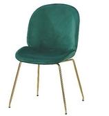 【南洋風休閒傢俱】單椅系列-溫妮莎布餐椅 造型椅 有背餐椅 設計師造型貝殼椅 CM1063-5-6-7