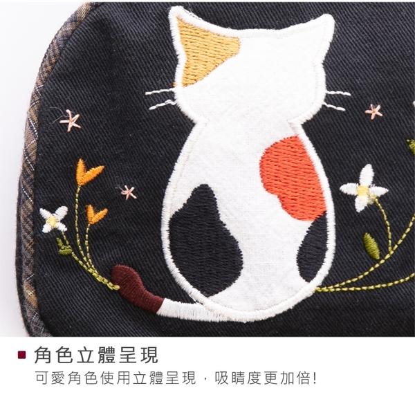 Kiro貓‧背影貓 雙層 零錢包/小物收納包【820100】