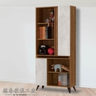 D&T 德泰傢俱 DINO清水模風格2.7尺書櫃 A011-T16