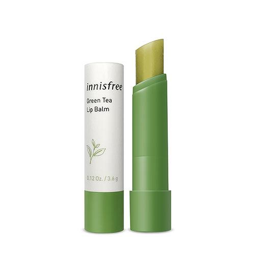 韓國 Innisfree 綠茶保濕護唇膏 3.6g 【BG Shop】