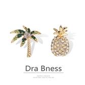 同款菠蘿椰樹胸針可愛日擊ins潮個性男卡通別針女 韓國時尚週