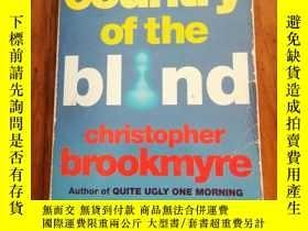 二手書博民逛書店Country罕見of the Blind 盲人之國Y12800 Christopher Brookmyre