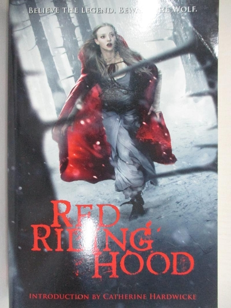【書寶二手書T3/原文小說_H43】Red Riding Hood_Sarah Blakley-Cartwright,David Leslie Johnson