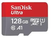 [富廉網]【SanDisk】Ultra microSDXC UHS-I (A1) 128GB 記憶卡(無轉卡)