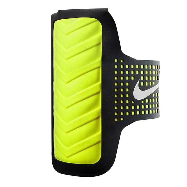 Nike DT Arm Band [NRN42080OS] 男 運動 慢跑 自行車 輕量 手機 臂包 4.7吋 黑 綠