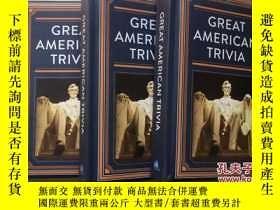 二手書博民逛書店GREAT罕見AMERICAN TRIVIA 美國偉大的瑣事 英
