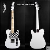 DRL22品初學電吉他TL固定琴橋吉它多色可選-炫彩腳丫折扣店
