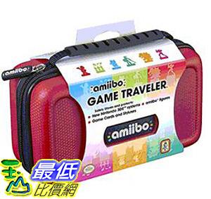 [106 美國直購] RDS Industries, Nintendo Amiibo Game Traveler Carrying Case - Red