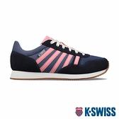 【超取】K-SWISS Granada復古運動鞋-女-藍/粉紅