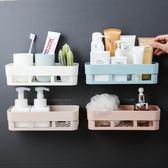 衛生間浴室廁所洗手間免打孔牆上置物架衛浴廚房洗漱台壁掛收納架 IGO