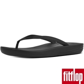 【FitFlop】IQUSHION ERGONOMIC TOE-THONGS(黑色)新品限時體驗價8折