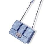 高級感鍊條小包包女新款洋氣百搭單肩斜挎女包小ck2-m308