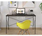 電腦桌 現代簡約家用臺式電腦桌1.2米筆記本辦公桌書桌寫字臺 卡菲婭