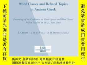 二手書博民逛書店Word罕見Classes And Related Topics
