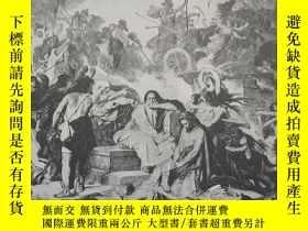 二手書博民逛書店1888年版畫:Jeremiah罕見on the Ruins o
