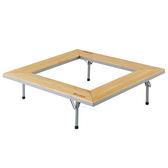[LOGOS] 極品原木囥爐桌 92x92 (LG81064124)