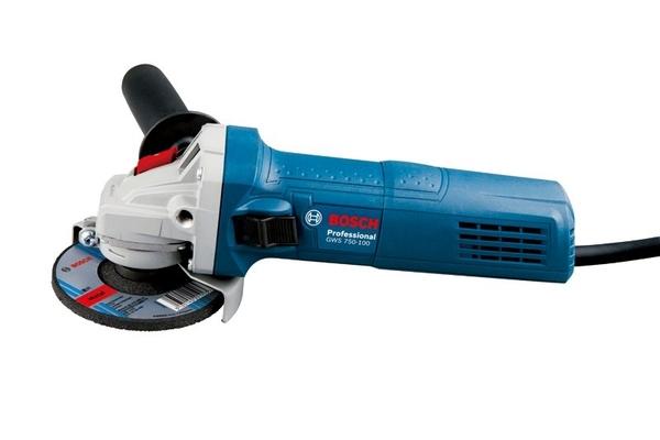 """家事達 ] BOSCH-博世 GWS750-100 4"""" 細柄 手提砂輪機 砂輪機"""