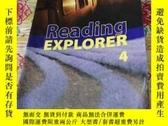 二手書博民逛書店Reading罕見EXPLORER 4(有鉛筆筆記,不影響閱讀)