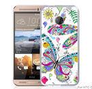 ✿ 3C膜露露 ✿【大彩蝶*立體浮雕硬殼】HTC ONE ME手機殼 手機套 保護套 保護殼